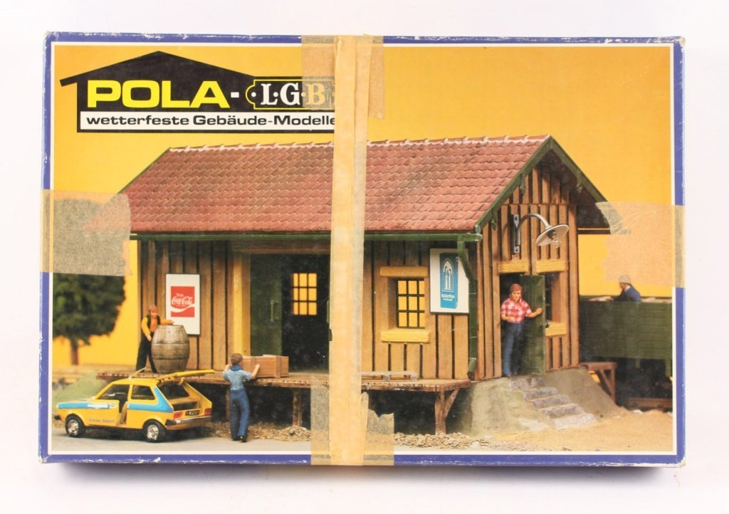 POLA-LGB 908 FREIGHT SHED MODEL KIT
