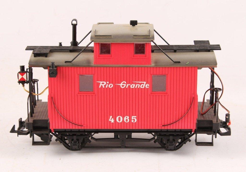 LGB 4065 RIO GRANDE 2-AXLE CABOOSE