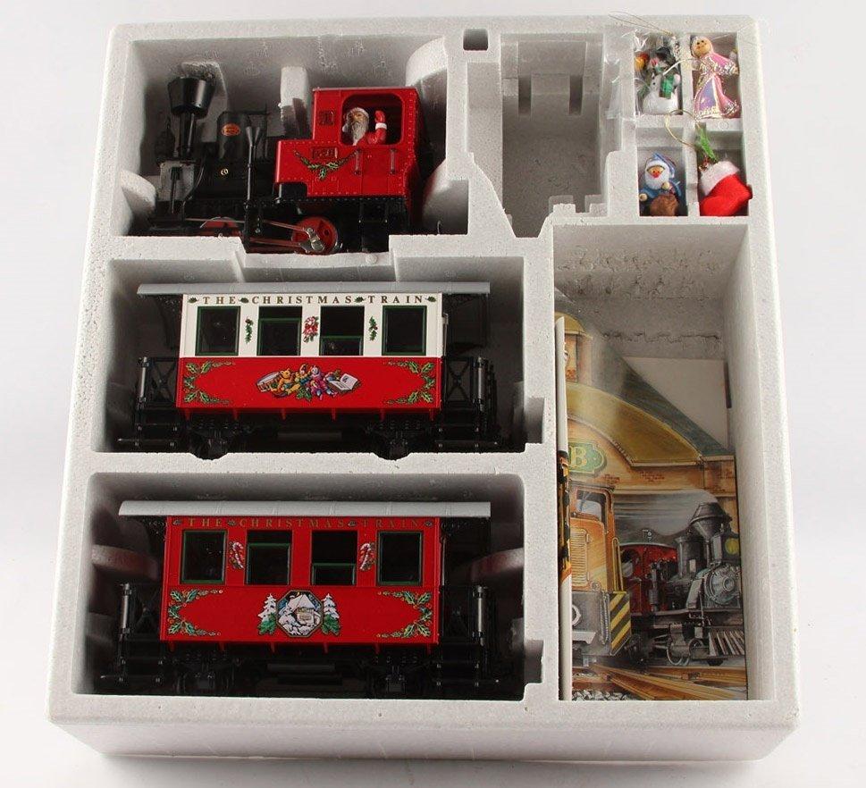LGB 21540 RED CHRISTMAS TRAIN SET - 3