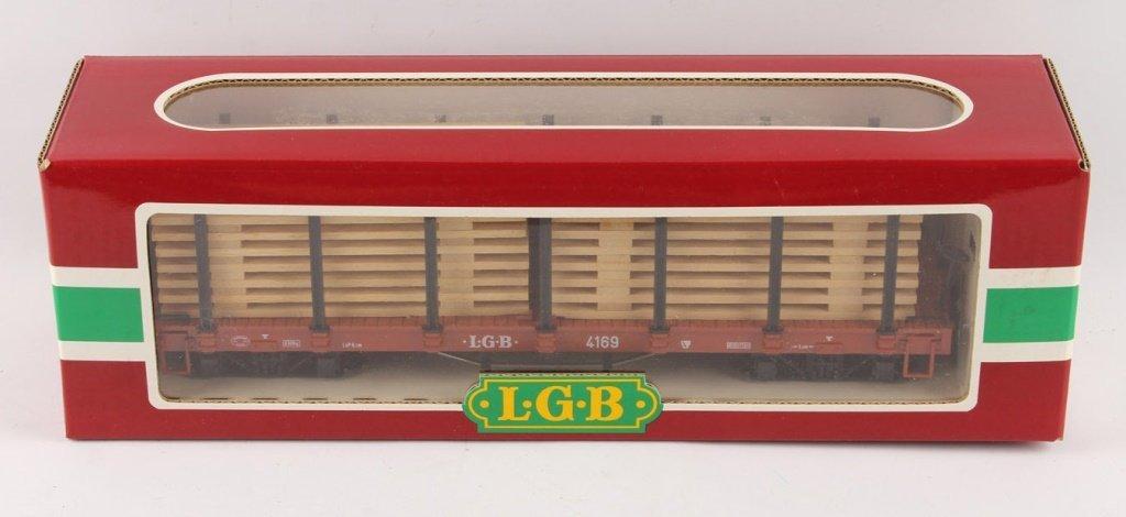 LGB 4169 WOODEN PLANK LOAD FLAT CAR