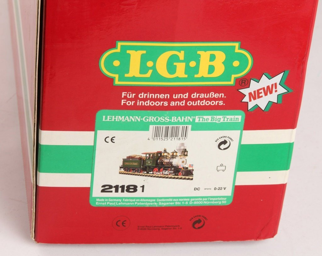 LGB 21181 DENVER & RIO GRANDE WESTERN STEAM ENGINE - 2