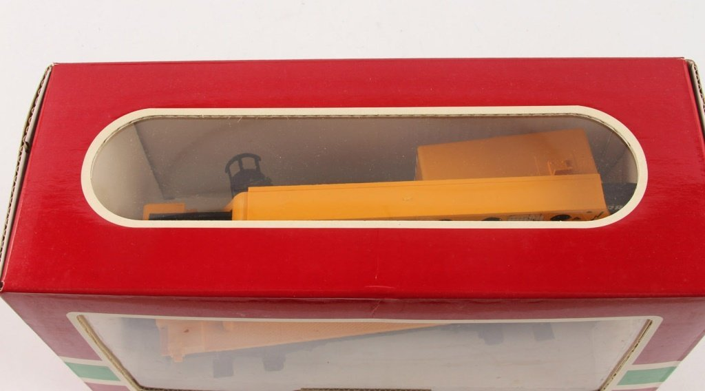 LGB 4042 MATRA YELLOW CONSTRUCTION CRANE CAR - 2