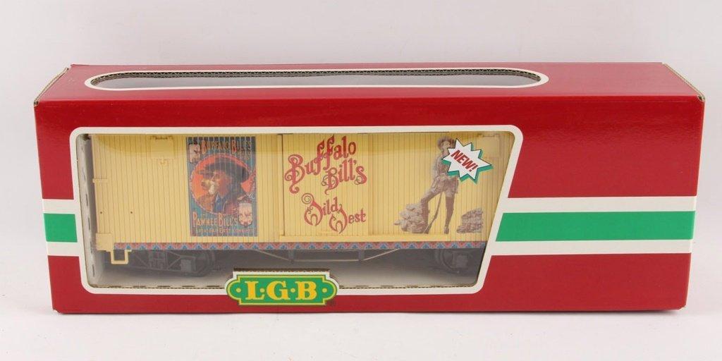 LGB 44670 BUFFALO BILL REEFER CAR