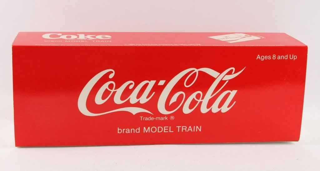 """LGB 4291 COKE """"CAN'T BEAT THE REAL THING"""" BOX CAR"""