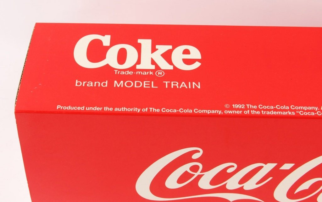 "LGB 4291 COKE ""CAN'T BEAT THE REAL THING"" BOX CAR - 2"