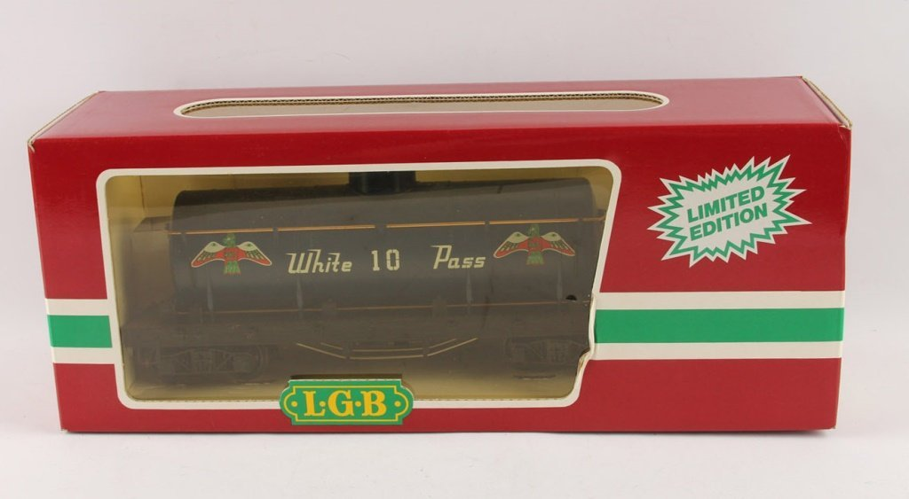 LGB 4080-W01 WHITE PASS TANKER LIMITED EDITION