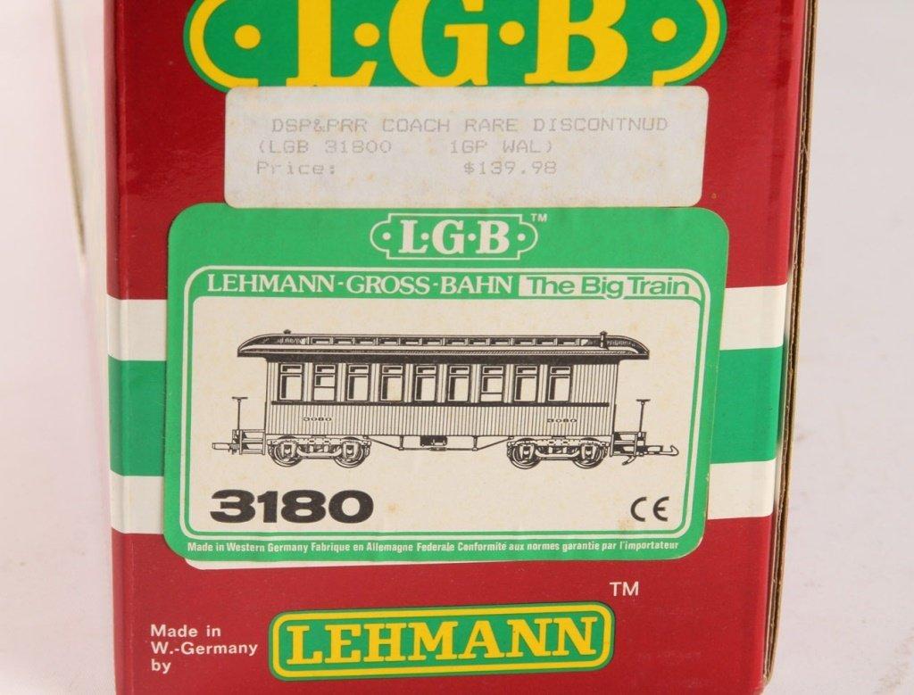 LGB 3180 DENVER SOUTH PARK & PACIFIC PASSENGER CAR - 2