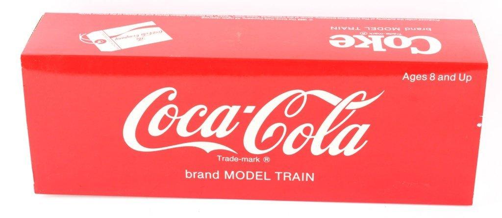 "LGB TRAINS ""CAN'T BEAT THE FEELING!"" COCA-COLA CAR"