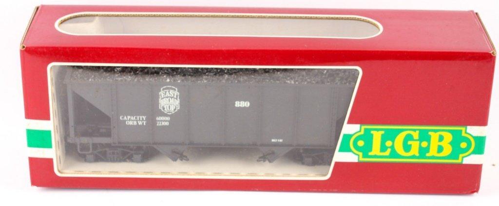LGB TRAINS 4076 EAST BROAD TOP COAL HOPPER