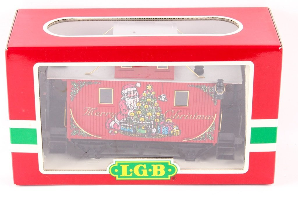 LGB TRAINS 44650 SANTA CHRISTMAS CABOOSE.