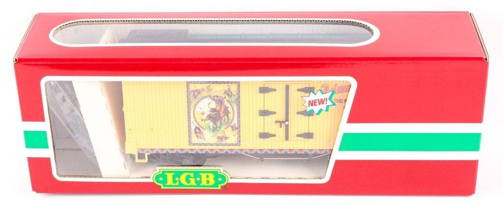 LGB TRAINS 41720 ANNIE OAKLEY BOX CAR