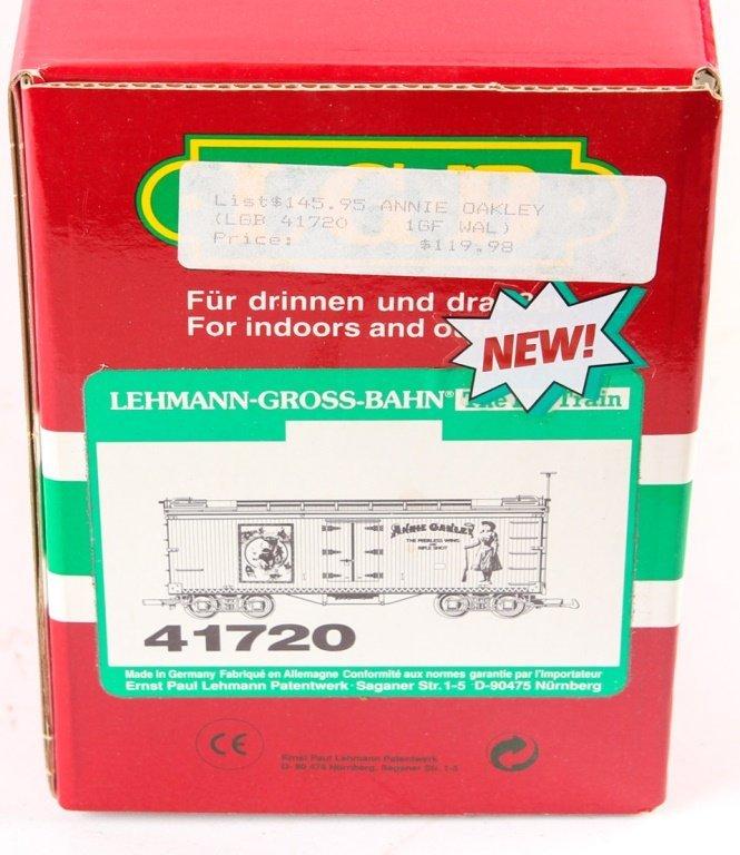 LGB TRAINS 41720 ANNIE OAKLEY BOX CAR - 2