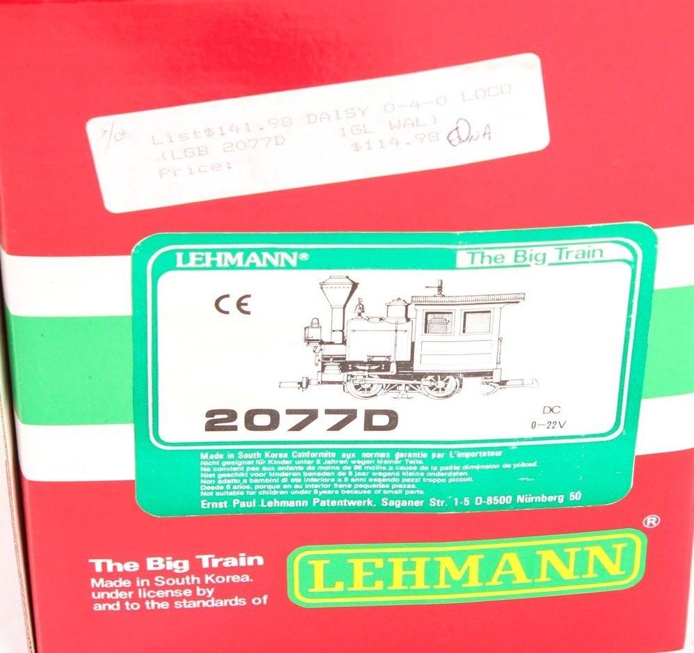 LGB TRAINS 2077D 0-4-0 DAISY SWITCHER LOCOMOTIVE - 2