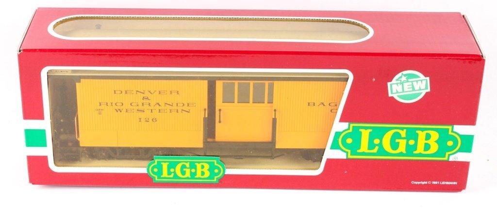 LGB TRAINS 3084 D&RGW BAGGAGE CAR