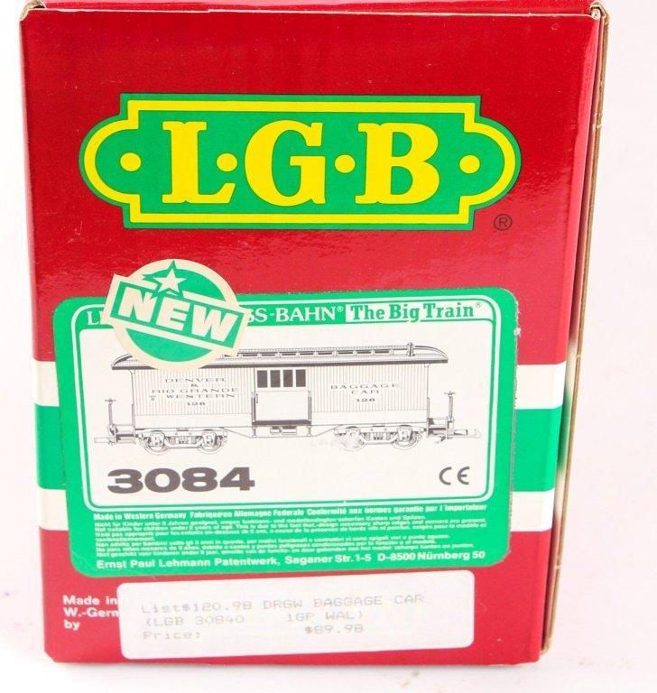 LGB TRAINS 3084 D&RGW BAGGAGE CAR - 2