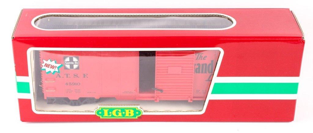 LGB TRAINS 45910 SANTA FE GRAND CANYON BOX CAR