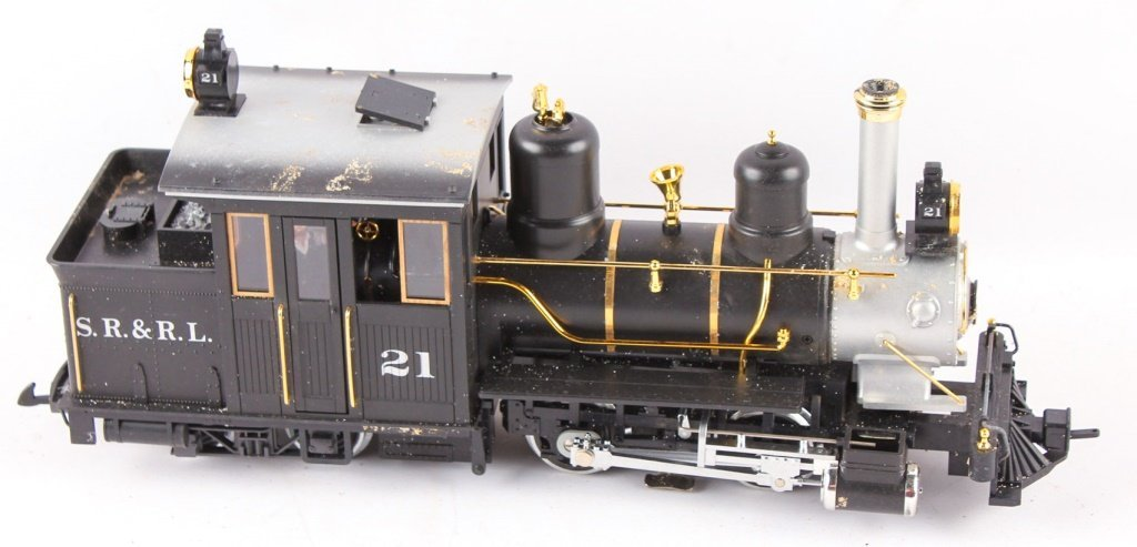 LGB TRAINS SR & RL 4-4-0 FORNEY STEAM LOCO 21251