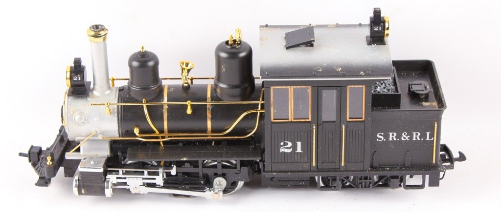 LGB TRAINS SR & RL 4-4-0 FORNEY STEAM LOCO 21251 - 4