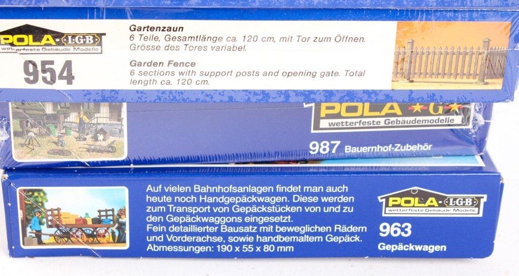 LOT OF POLA-LGB AND LGB TRAIN ACCESSORIES - 4