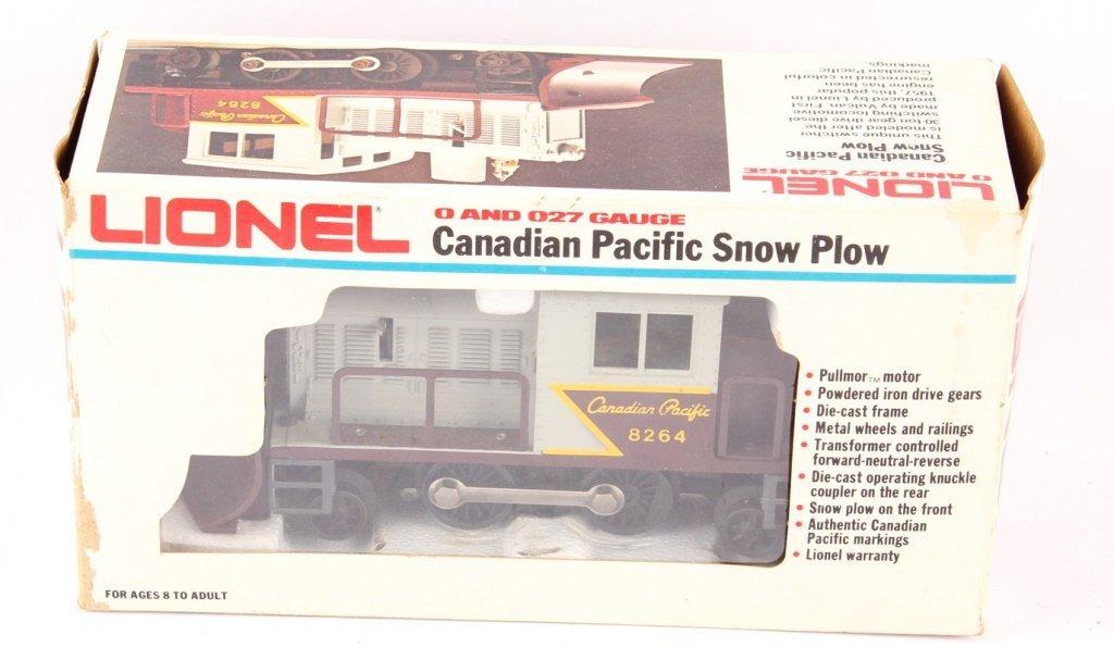 LIONEL TRAINS CANADIAN PACIFIC SNOW PLOW 6-8264