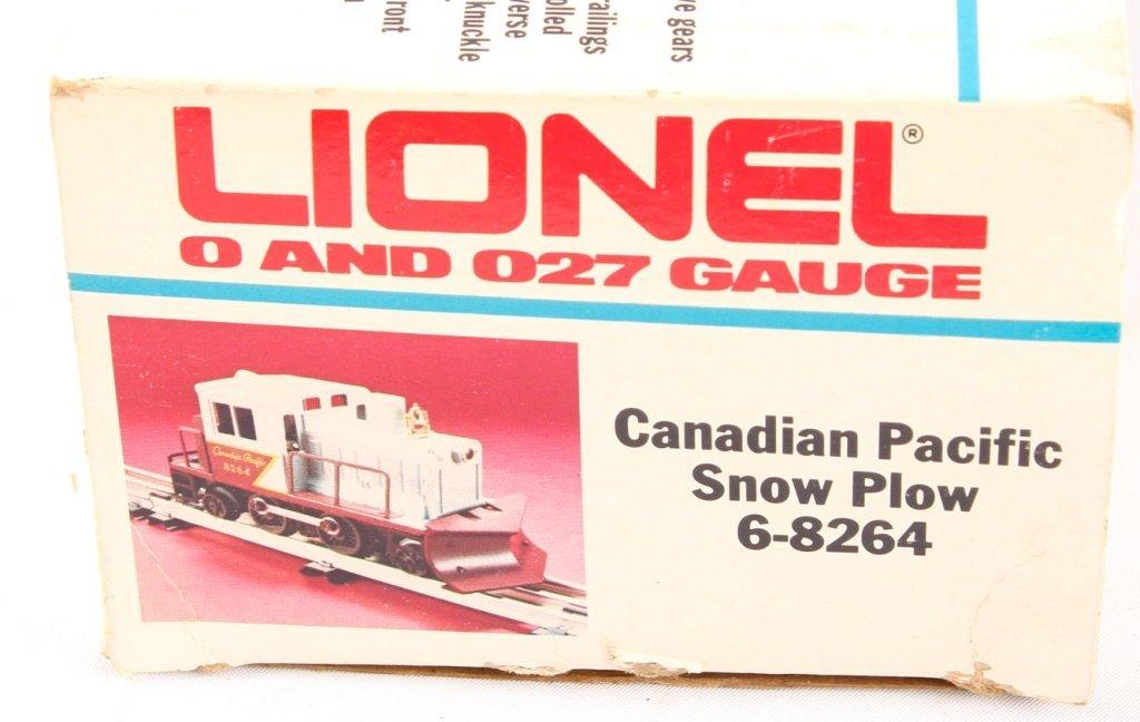 LIONEL TRAINS CANADIAN PACIFIC SNOW PLOW 6-8264 - 2