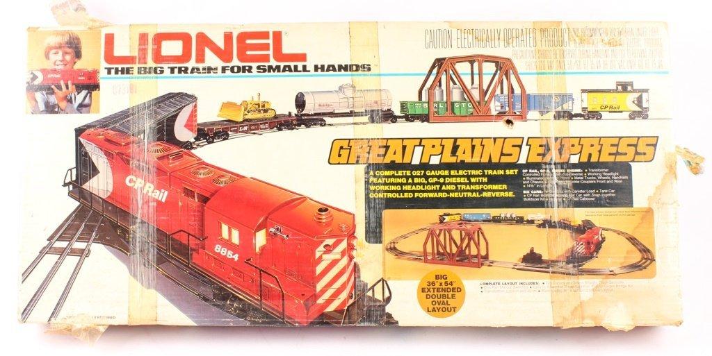 LIONEL TRAINS GREAT PLAINS EXPRESS SET 6-1866