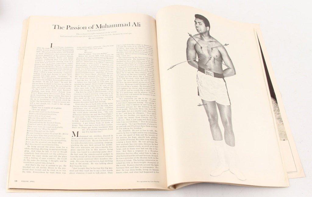 MUHAMMAD ALI ESQUIRE APRIL 1968 MEMORABILIA & MORE - 10