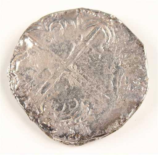 1598 1621 POTOSI SPANISH COB 8 REALES PHILIPVS III
