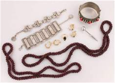 LADIES COSTUME JEWELRY--EARRINGS NECKLACES & MORE