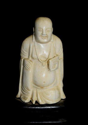 Carved Ivory Buddha