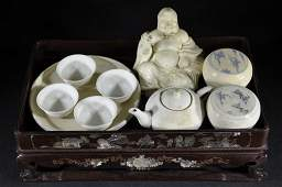 Group of Chinese Decorative Articles