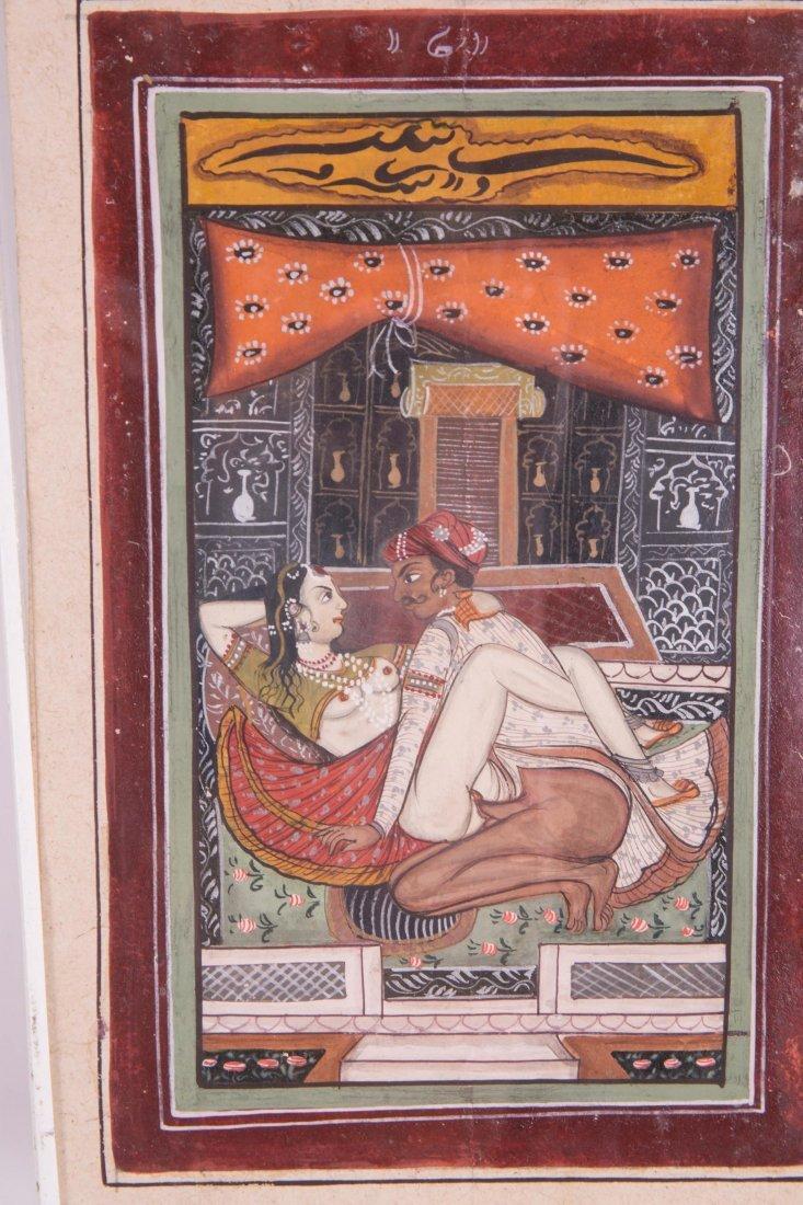 INDIAN EROTIC PAINTING ALBUM - 2