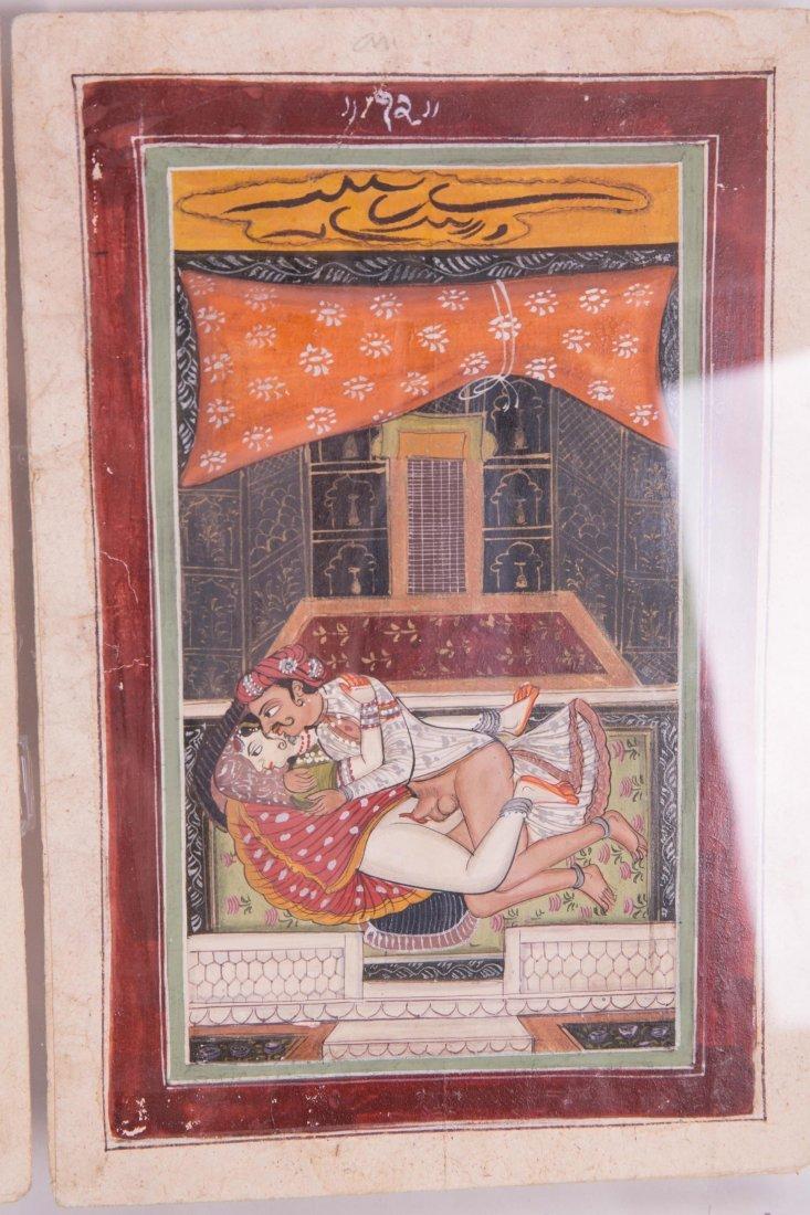 INDIAN EROTIC PAINTING ALBUM - 3