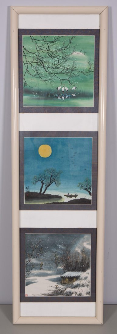 CHINESE MODERN PAINTING OF NATURAL SCENE