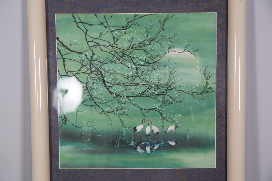 CHINESE MODERN PAINTING OF NATURAL SCENE - 2