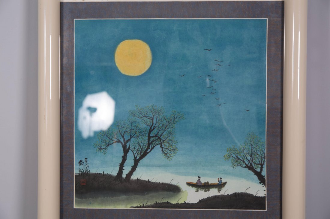 CHINESE MODERN PAINTING OF NATURAL SCENE - 3