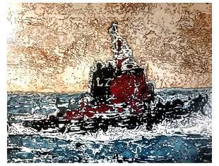 "Carlos Baez (1963) ""ZAERFU"", 2014"