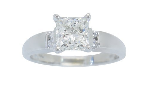 SHOW STOPPING CERTIFIED 1.34CTW VS QUALITY DIAMOND RING