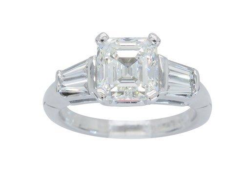 CERTIFIED 2.53CTW INTERNALLY FLAWLESS DIAMOND RING
