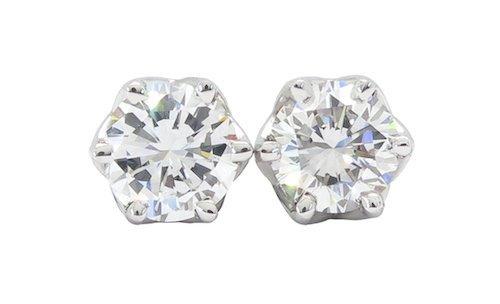 CERTIFIED D COLOR INTERNALLY FLAWLESS DIAMOND EARRINGS