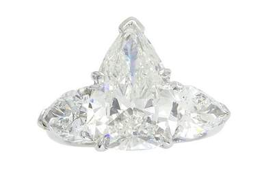 MAGNIFICENT & RARE CERTIFIED 6.19CTW DIAMOND RING