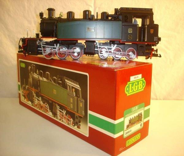 270: ABT: LGB #2085D 0-6-6-0 Mallet Steam Engine/OB