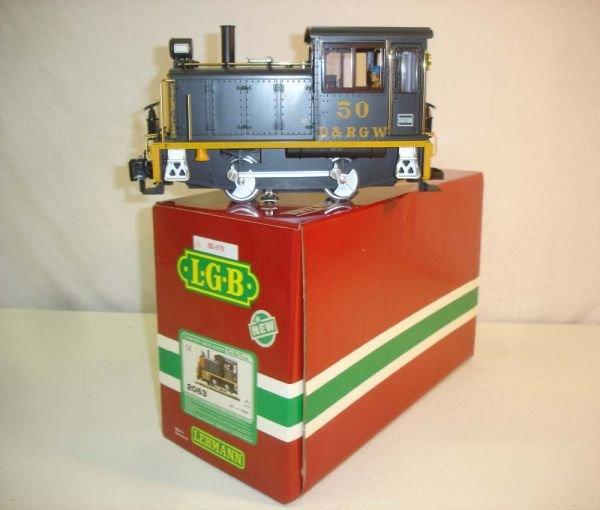 272: ABT: LGB #2063 #50 D&RG Switcher/Brick OB