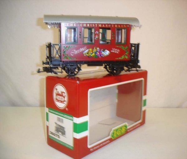 273: ABT: LGB #36075 2000 Christmas Coach/Brick OB