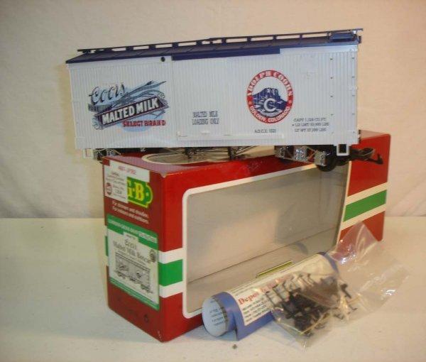 274: ABT: LGB #46670 Coors Malted Milk Box Car/OB