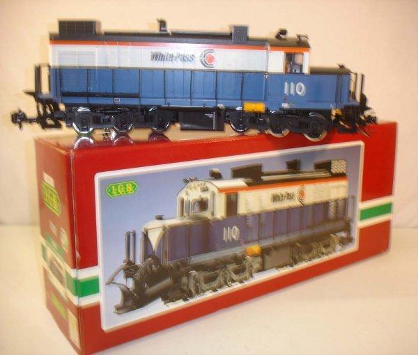 280: ABT: LGB #2055 White Pass Diesel/Brick OB