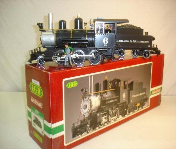 290: ABT: LGB #2109S(2018D) C&S 2-6-0 Engine & Tender/B