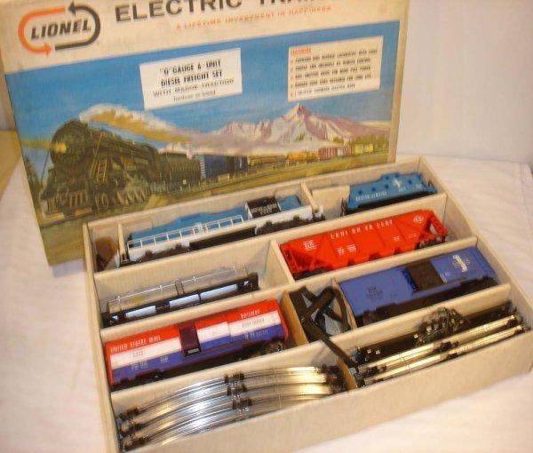 580: ABT: Mint Lionel #12800 B&M Freight Set/OB+