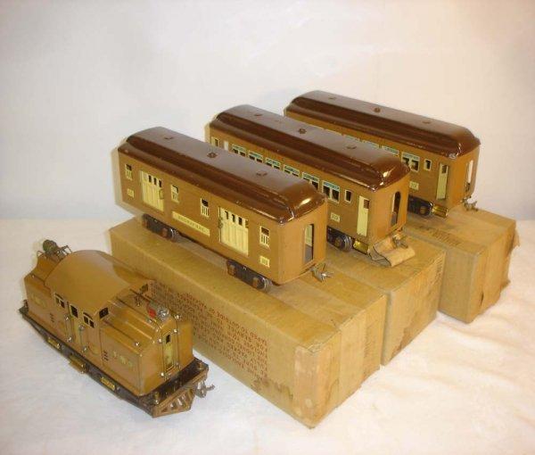 5: ABT: Nice Lionel #318E Baby State Passenger Set