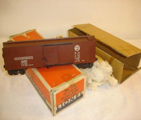 16: ABT: Lionel #714 Pennsylvania Scale Box Car/OB